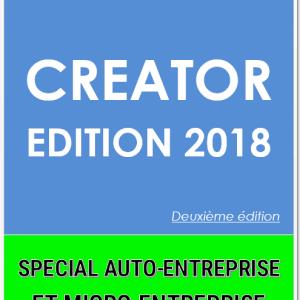 Creator guide livre création micro-entreprise auto-entrepreneur